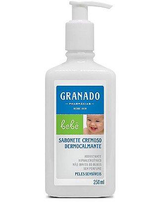 Granado Bebê Sabonete Cremoso Dermocalmante Peles Sensíveis 250ml