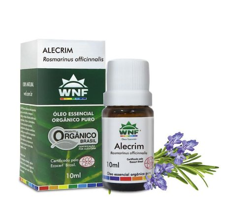 WNF Óleo Essencial Orgânico Puro Alecrim 10ml
