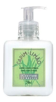 Loccitane Au Bresil Capim Limão - Loção Corpo E Mãos  250ml
