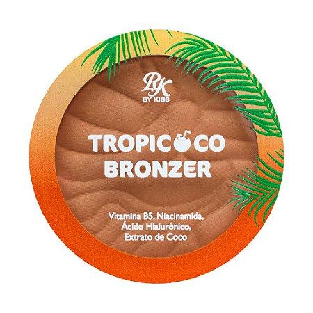 Kiss Tropicoco Pó Bronzer - Pé na Areia