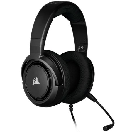 Headset Corsair HS35 stereo carbono