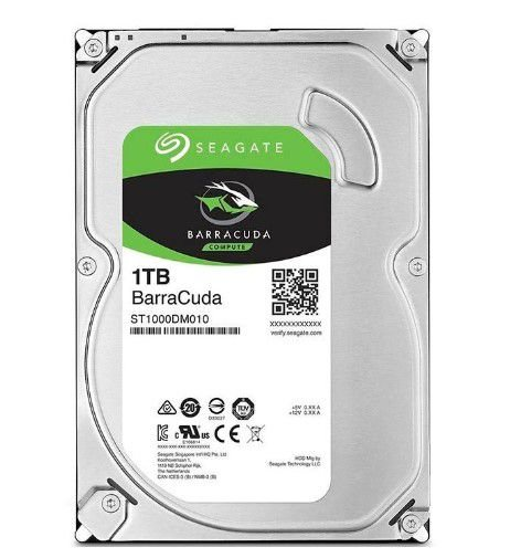 "HD Seagate Barracuda 1Tb 3.5"" SATA III 6GB/S"