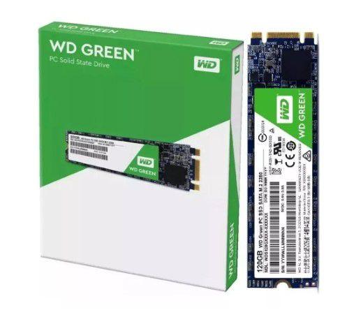 HD SSD M.2  Wd Grenn 120Gb 8821 Wester Digital