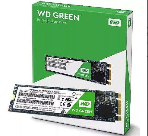 HD SSD M.2  Wd Grenn 480Gb  Wester Digital