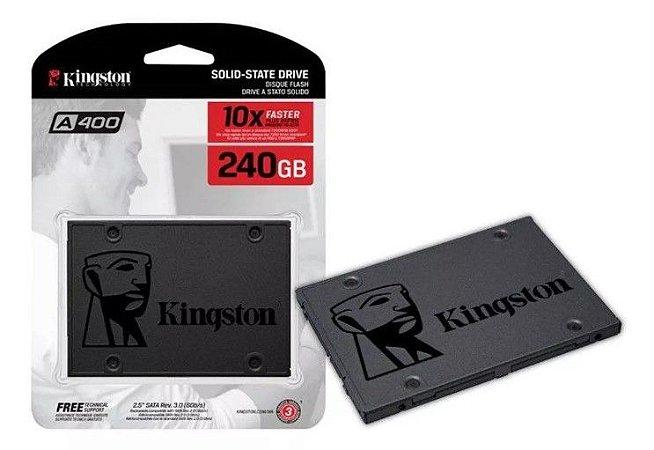 SSD Kingston A400 2.5 240GB Sata III 350MB