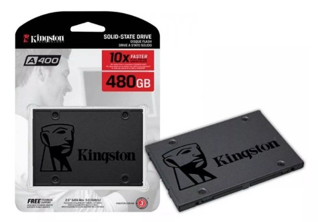 SSD Kingston A400 2.5 480GB Sata III 450mb