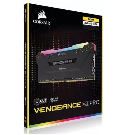 Kit 16Gb (2x8GB) DDR4 2666 Mhz Corsair Rgb Pro