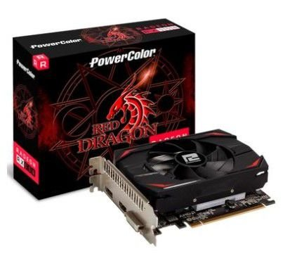 Placa de Vídeo PowerColor AMD Radeon RX 550, 2GB, DDR5 -