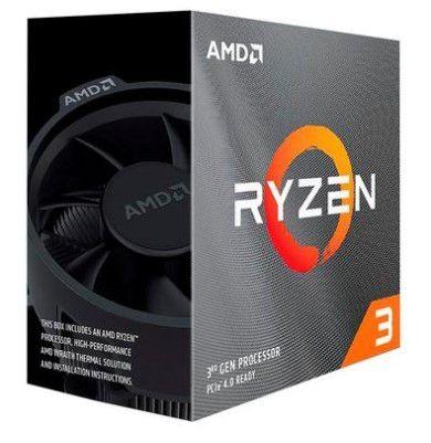 Processador AMD Ryzen 3 3100, Cache 18MB, 3.9Ghz, AM4