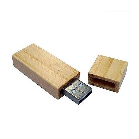 Pen drive em madeira