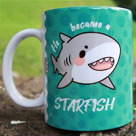 Caneca O que aconteceu quando o tubarão ficou famoso?