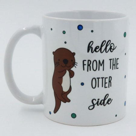 Caneca Hello From the Otter Side (Adele)