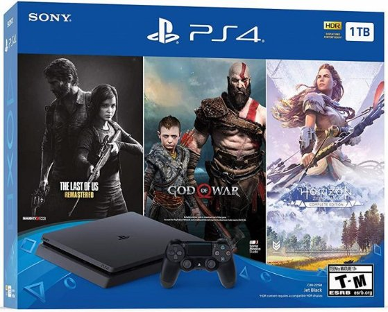 Console Playstation 4 Slim 1Tb Only On PS4 - Sony