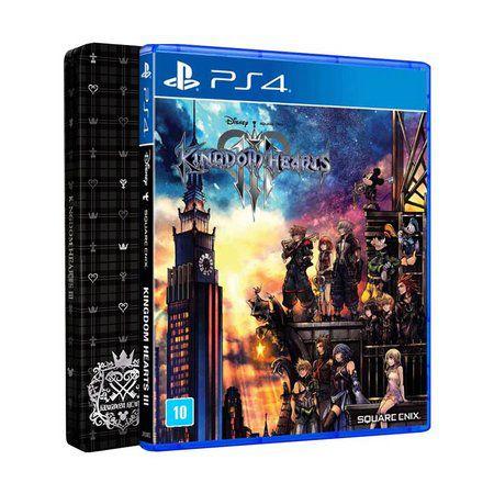 PS4 KINGDOM HEARTS III + STEELBOOK - SQUARE ENIX