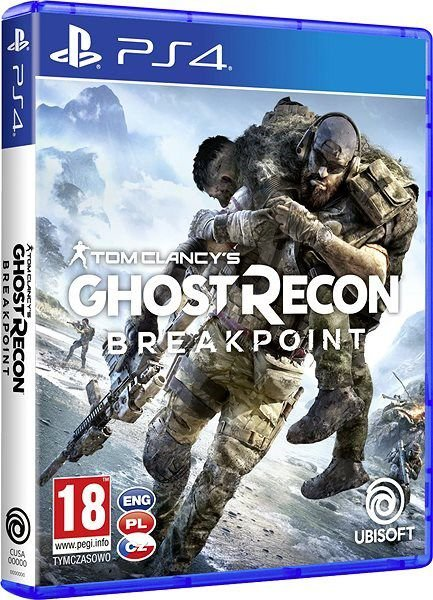 PS4 TOM CLANCYS GHOST RECON BREAKPOINT - UBISOFT