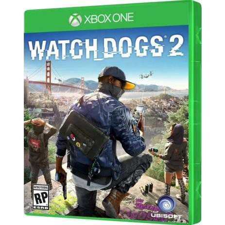 XBOX ONE WATCH DOGS 2 - UBISOFT