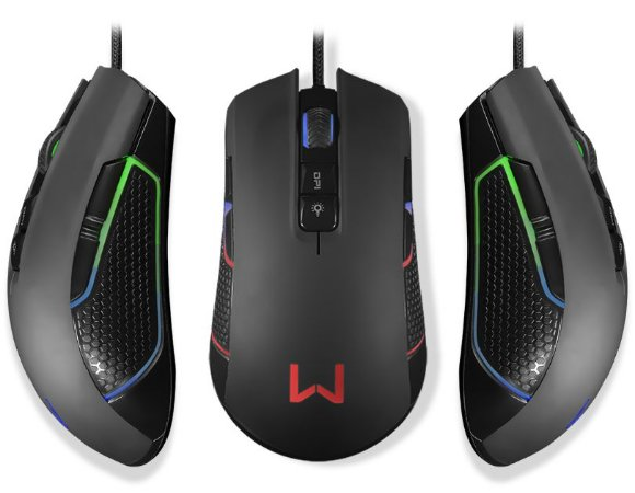 WARRIOR PERSEUS MOUSE GAMER RGB MO275
