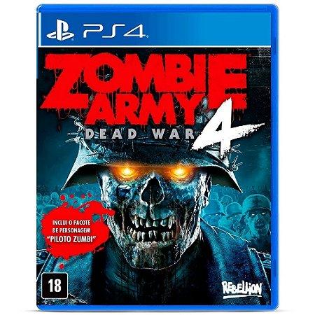 PS4 ZOMBIE ARMY 4 DEAD WAR