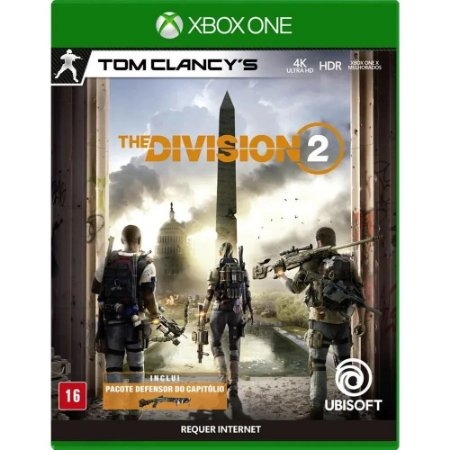 XBOX ONE TOM CLANCYS THE DIVISION 2
