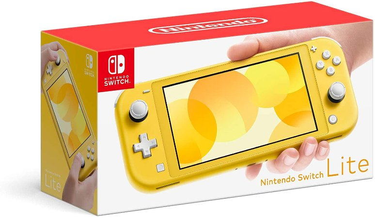 Console Video Game Nintendo Switch Lite Yellow - Amarelo