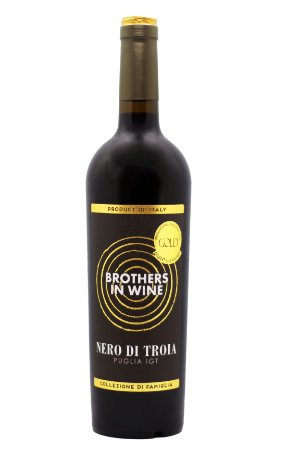 Vinho Tinto Brothers in Wine Nero di Troia IGT
