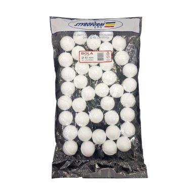Bolas de Isopor 40MM PCT C/40