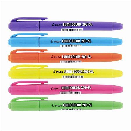 Marca Texto Pilot Lumi Color 200-Sl
