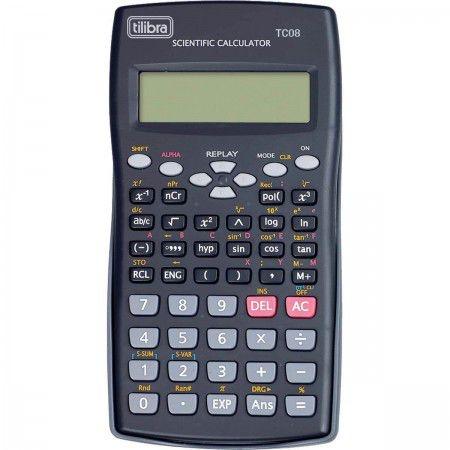Calculadora Científica Tilibra Tc08 C/240 Funções
