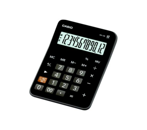 Calculadora De Mesa Casio Mx-12B C/12 Dígitos