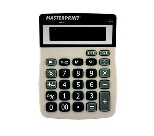 Calculadora De Mesa Masterprint Mp 1012  C/12 Dígitos