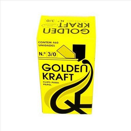 Clips P/Papel Golden Kraft N°3/0 500G