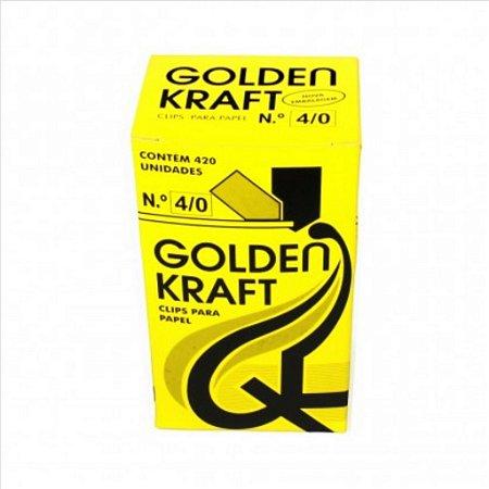 Clips P/Papel Golden Kraft N°4/0 500G
