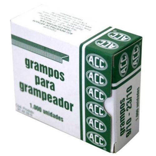 Grampos Acc Galvanizados 9/10 - 23/10 P/Grampeador 1000Und