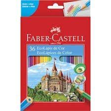 Lápis De Cor Faber Castell 36 Cores
