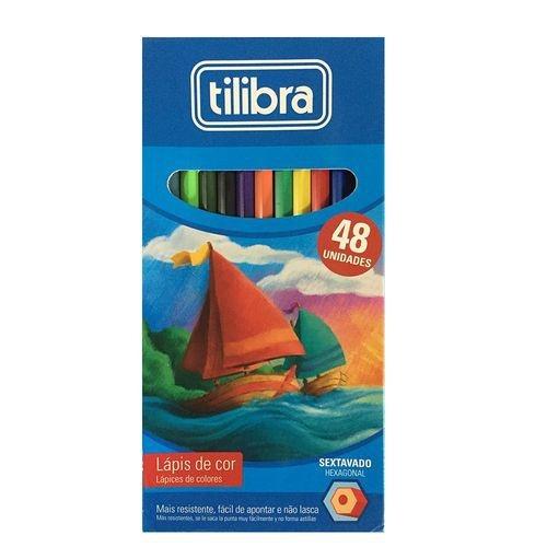 Lápis De Cor Tilibra 48 Cores Academie
