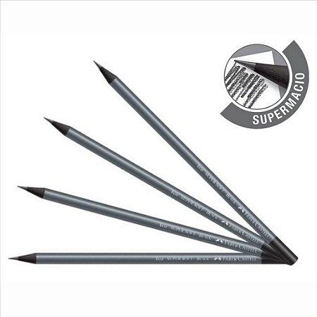 Lápis Preto Escolar Faber-Castell Super Soft Black