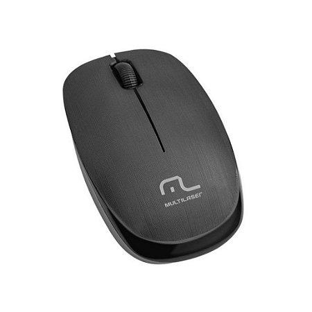 Mouse Sem Fio Multilaser Mo251 2,4Ghz 1200 Dpi
