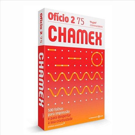 Papel Chamex 500F Ofício 2 75Gr