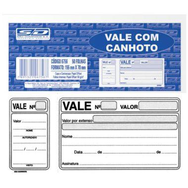 Vale Com Canhoto 50F SD 67561