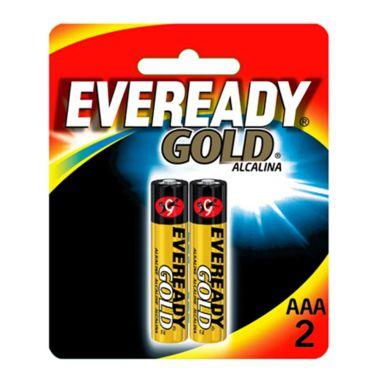 Pilha AAA Eveready Gold C/2 Palito Alcalina