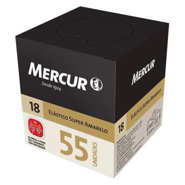 Elástico Mercur Super Amarelo N°18 Fino 55und