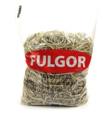 Elástico Fulgor N°18 Fino Claro 1KG