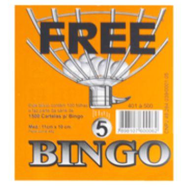 Bloco de Bingo Jornal Free