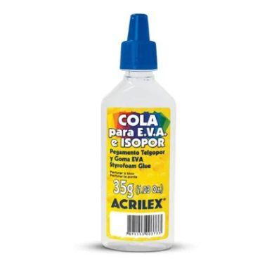 Cola para E.V.A e Isopor Acrilex 35G