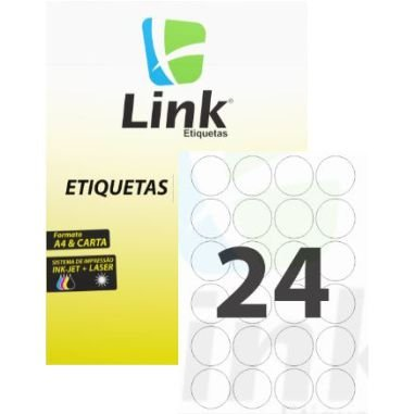 Etiqueta Link C/100 8017 (24) Redonda
