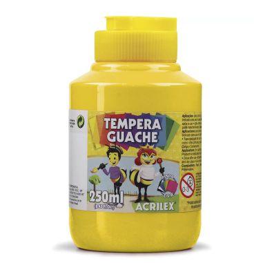 Tinta Guache Acrilex 250Ml Amarelo Ouro 505
