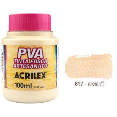 Tinta Plastica PVA Areia 817 100Ml