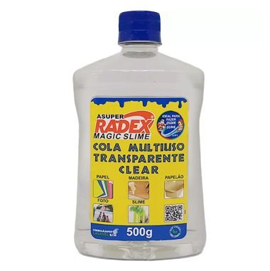Cola Multiuso Transparente Radex 500G Magic Slime