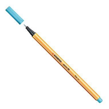Caneta Stabilo Point 88 Azul Claro 57