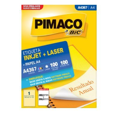 Etiqueta Pimaco C/100 A4365 (1) A4